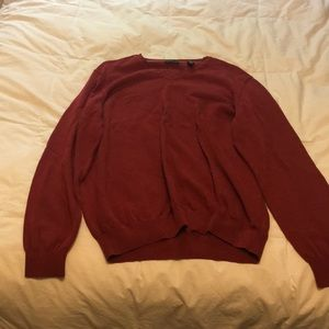 Vneck, dressy sweater